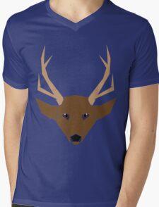 Deer Mens V-Neck T-Shirt