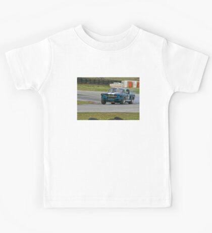 Vintage Racing - Ford Mustang Kids Tee