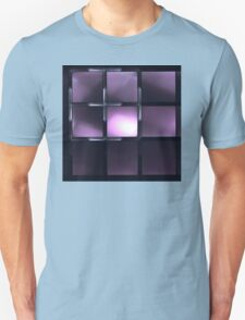 Fantastic abstract shining  in purple tones Unisex T-Shirt