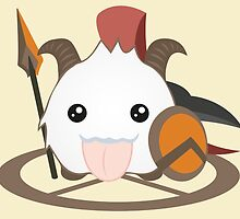 Pantheon Poro - League of Legends by Geeksetas