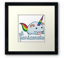 Poricornio - League of Legends Framed Print