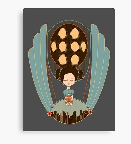 Bioshock little sister cool design Canvas Print