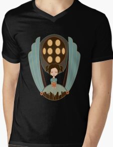 Bioshock little sister cool design Mens V-Neck T-Shirt