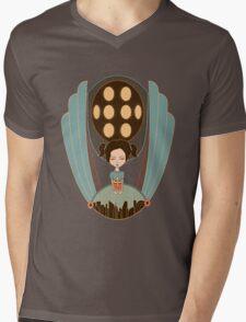 Bioshock little sister cool design Mens V-Neck T-Shirt