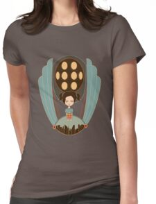 Bioshock little sister cool design Womens Fitted T-Shirt