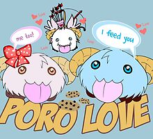 Poro Lover - League of Legends by Geeksetas
