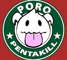Poro Pentakill - League of Legends by Geeksetas