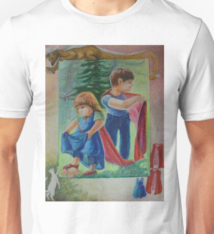 Anna And Paul - Superman And The Mad Mermaid Queen Unisex T-Shirt