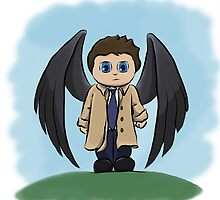 Castiel the Angel of the Lord by Vesuvius