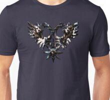 DOUBLE -HEADED WINGED BEHEMOTH - nergal metal god Unisex T-Shirt