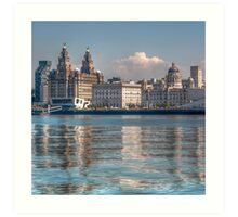 Liverpool's Three Graces Art Print