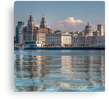Liverpool's Three Graces Canvas Print