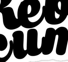 Rebel Scum ver.blackscript Sticker