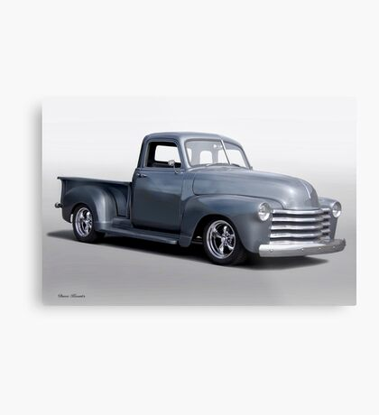 1953 Chevrolet 3100 Stepside Pickup  Metal Print