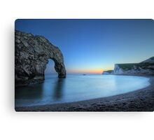 Jurassic Coast Canvas Print