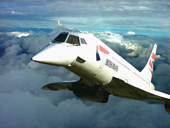 Fly Concorde  !!!! by Colin J Williams Photography