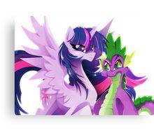 Guardians of Friendship Canvas Print