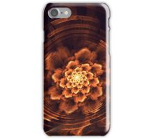 Interesting  abstract background in brown and golden tones  iPhone Case/Skin