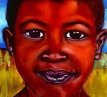 Rasta - A South African Child by Mariaan M Krog Fine Art Portfolio