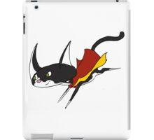 Super Cat to save the Day! iPad Case/Skin