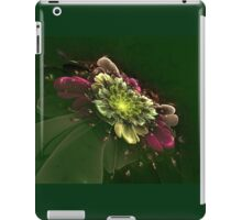 Interesting intriguing abstract background in the form of a stylized flower iPad Case/Skin