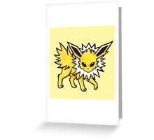 Jolteon Greeting Card
