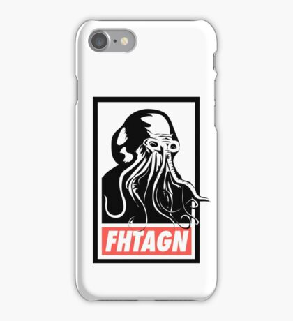 Fhtagn iPhone Case/Skin