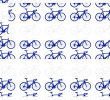 Bike Flag Greece (Small) Sticker