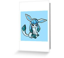 Glaceon Greeting Card
