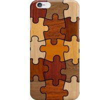 Puzzle Wood V2.0 iPhone Case/Skin