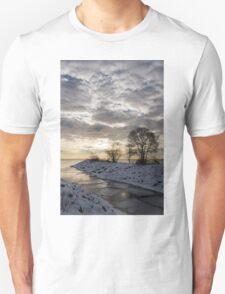 Broken Ice, Broken Clouds Unisex T-Shirt