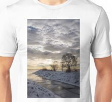 Broken Ice, Broken Clouds Unisex T-Shirt