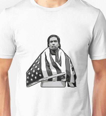 ASAP A$AP ROCKY American Flag A4ap Unisex T-Shirt
