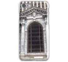 Detroit abandoned heritage building train station dilapidated downtown city iPhone Case/Skin