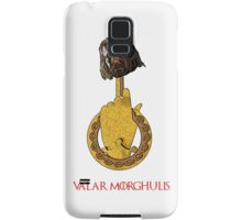 The Head on the Hand - Valar Morghulis - Ned Stark  Samsung Galaxy Case/Skin