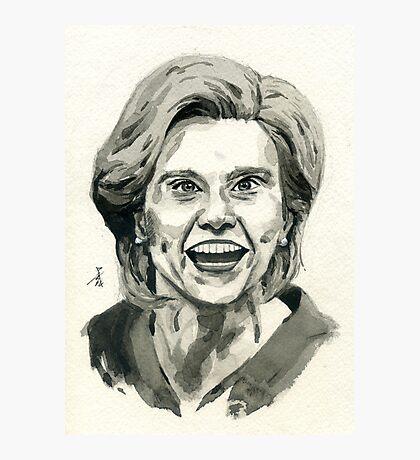 Kate McKinnon as SNL Hillary Clinton  Photographic Print