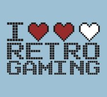 I Love Retro Gaming  by GregWR
