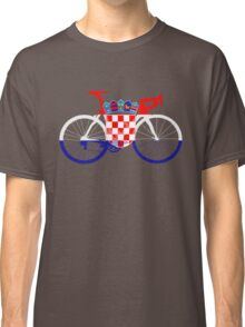 Bike Flag Croatia (Big) Classic T-Shirt