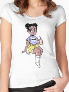 Yolanda Women's Fitted Scoop T-Shirt