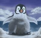 A little penguin by Ivan Bruffa