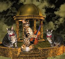 <º))))><     THE CATS AND THE FIDDLE <º))))><      by ✿✿ Bonita ✿✿ ђєℓℓσ