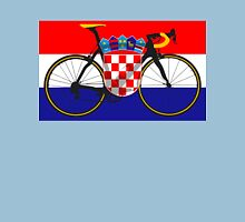 Bike Flag Croatia (Big - Highlight) Unisex T-Shirt