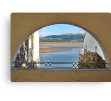 Another Arch View From PortMeirion Canvas Print