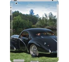 1938 Talbot-Lago T150 C Speciale Tear Drop Coupe I iPad Case/Skin