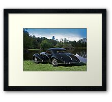 1938 Talbot-Lago T150 C Speciale Tear Drop Coupe I Framed Print