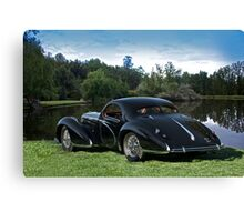 1938 Talbot-Lago T150 C Speciale Tear Drop Coupe I Canvas Print