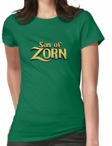 Son of Zorn Fan Art Print Design on Bitter Blue Womens Fitted T-Shirt