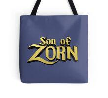 Son of Zorn Fan Art Print Design on Bitter Blue Tote Bag