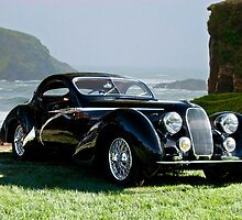 1938 Talbot Lago T150 C Speciale Tear Drop Coupe II by DaveKoontz