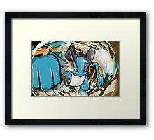 Swampert   Muddy Water Framed Print
